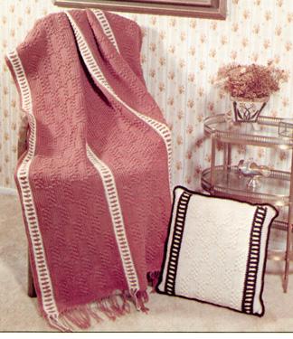 CROCHET DOUBLE WEDDING RING PATTERN AFGHAN Crochet Patterns