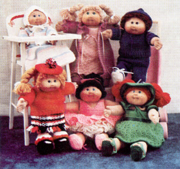 Cabbage Patch Doll Clothes Patterns | Rosies Doll Clothes Patterns