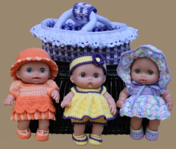 Crochet Clothes Patterns For Miscellaneous Dolls
