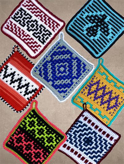 Home Decor Crochet Pattern Downloads