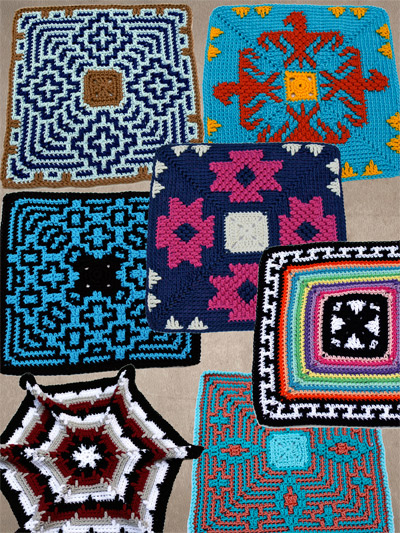 Home Decor Crochet Pattern Downloads