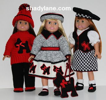 "What are somre websites where i can get free patterns for 18"" dolls?"