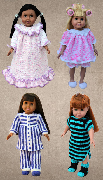 American Girl 18 Quot Doll Crochet Clothing Pattern Downloads