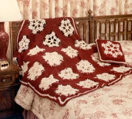 Free Crochet Pattern Snowflake Afghan : AFGHAN CROCHET PATTERN SNOWFLAKES Crochet Patterns
